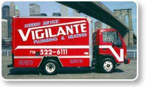 Vigilante Plumbing Heating & Air Truck